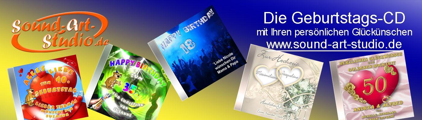 Die personalisierte Geburtstags-CD